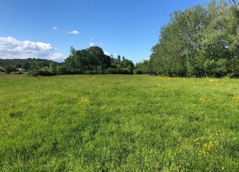 Terrain à vendre 2898m2 à Vallon-Pont-d'Arc