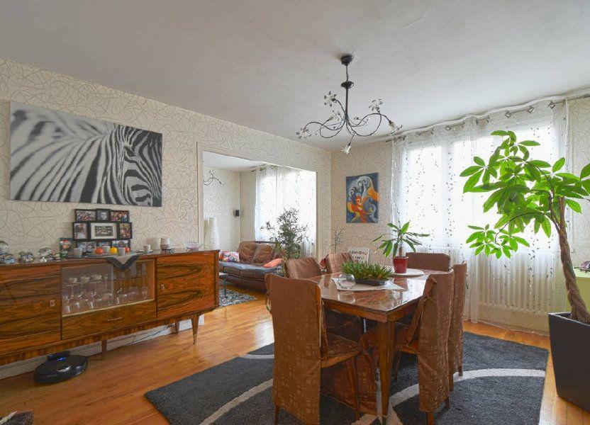 Appartement à louer 77.41m2 à Villeurbanne