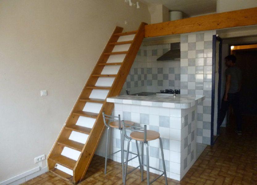 Appartement à louer 17.32m2 à Nîmes