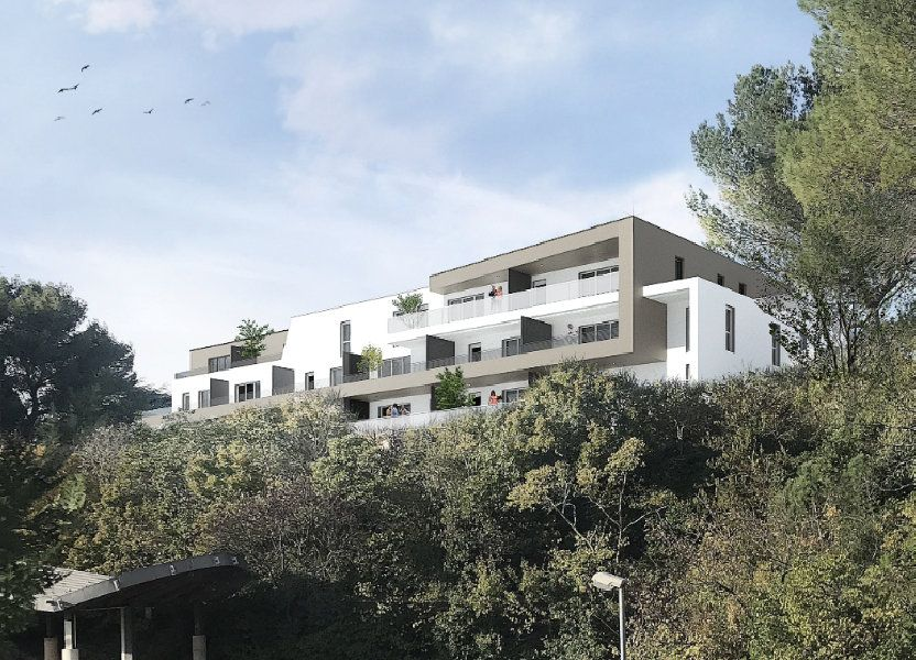 Appartement à vendre 88m2 à Nîmes
