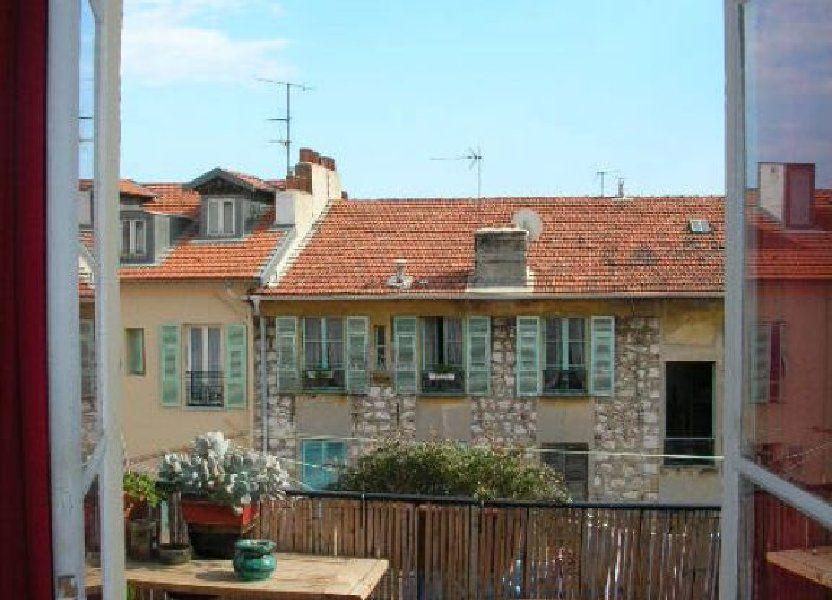 Appartement à louer 29.9m2 à Nice