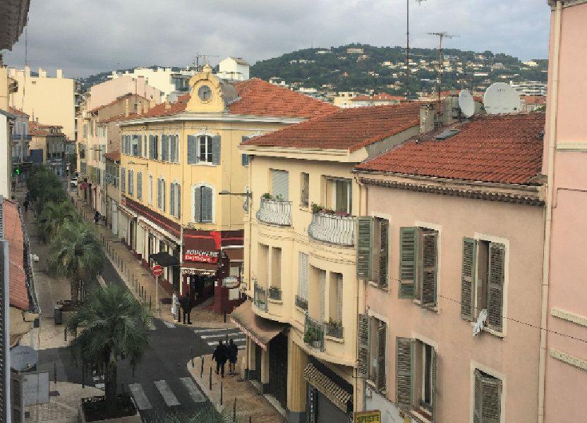 Appartement à louer 34.91m2 à Cannes