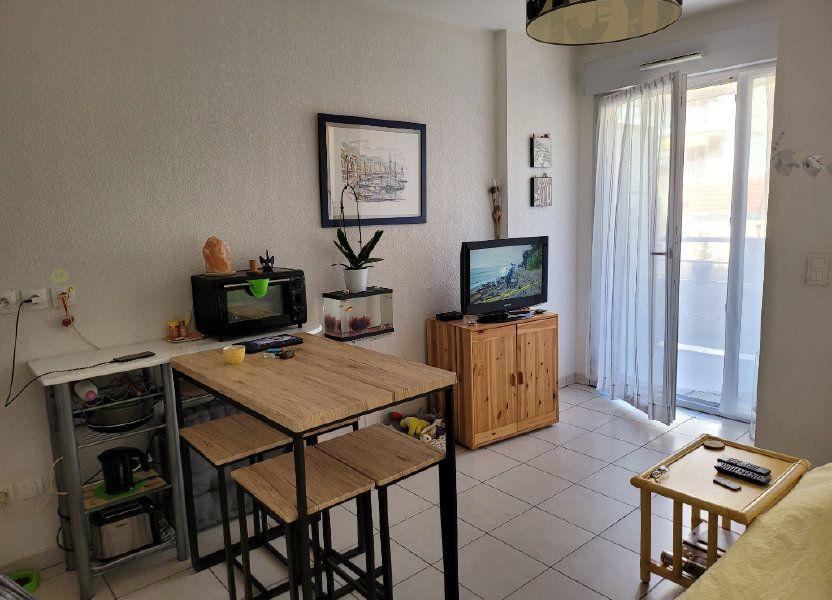 Appartement à vendre 21.29m2 à Nice