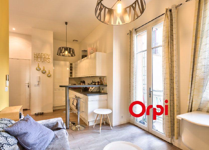 Appartement à vendre 32.59m2 à Nice