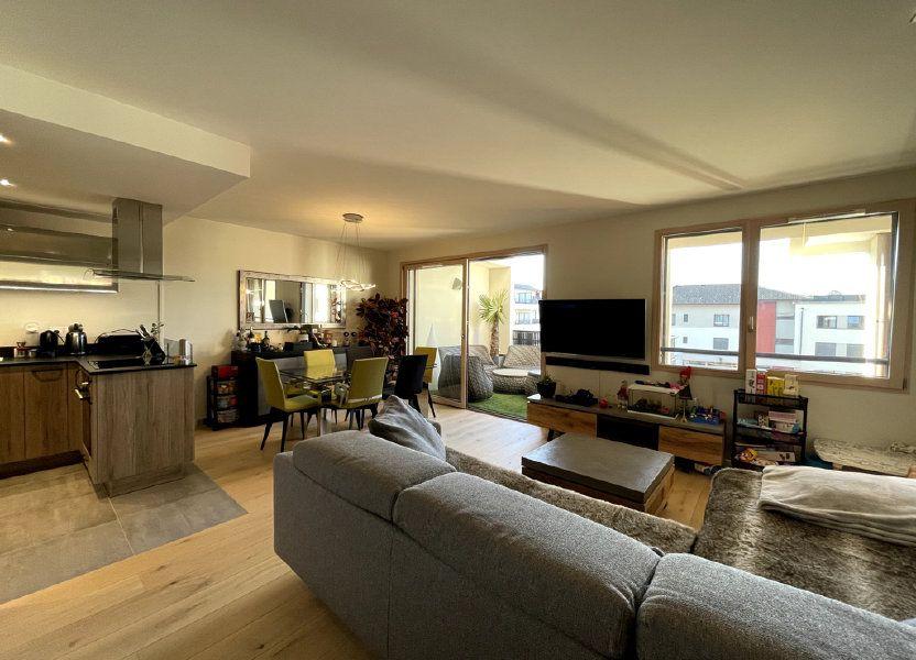 Appartement à vendre 76m2 à Veigy-Foncenex