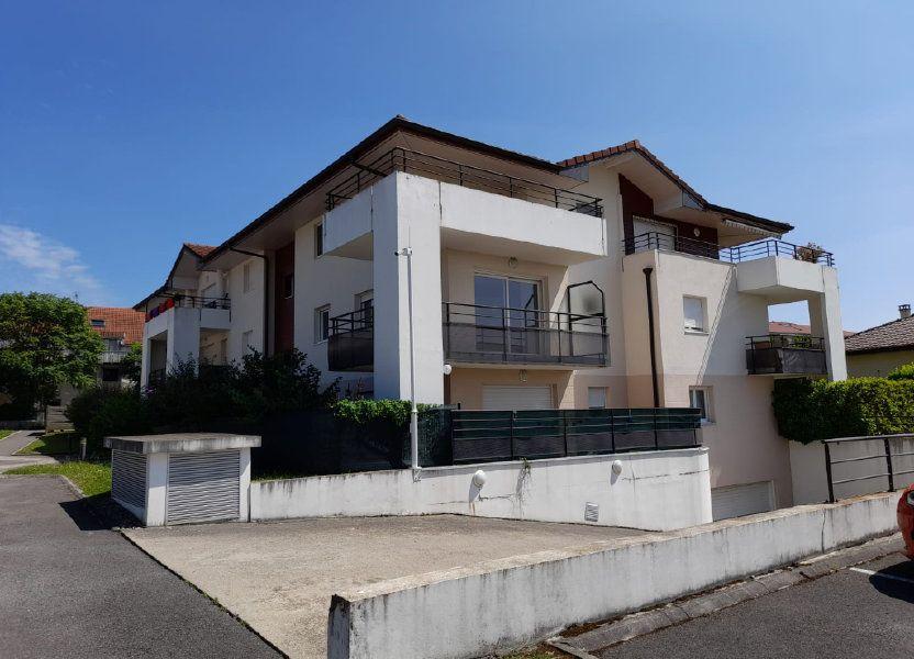 Appartement à louer 48.62m2 à Veigy-Foncenex