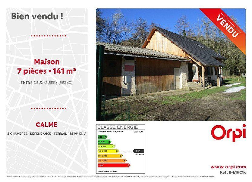 Maison à vendre 141m2 à Entre-deux-Guiers