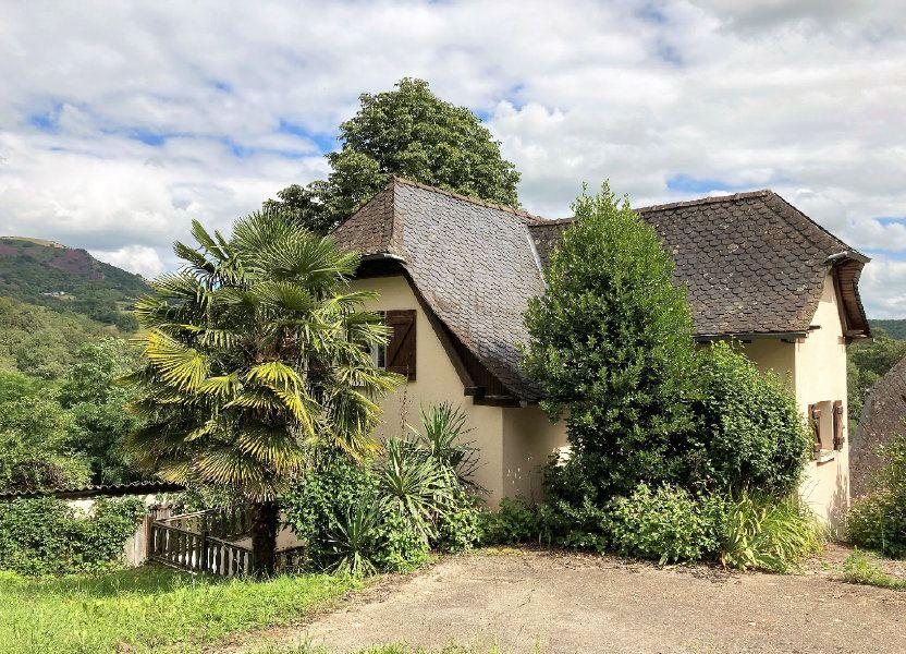 Maison à vendre 75m2 à Saint-Cyprien-sur-Dourdou