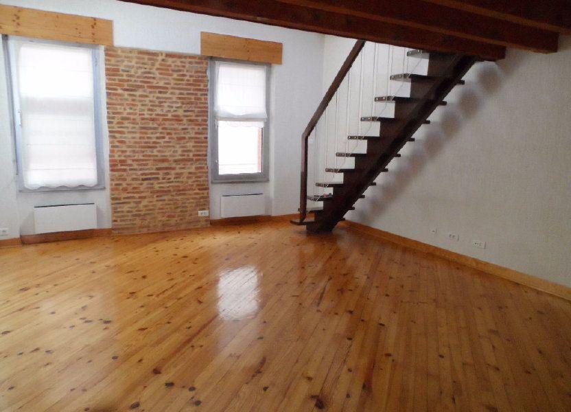 Appartement à louer 62.24m2 à Toulouse