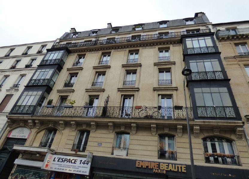 Appartement à vendre 13.15m2 à Paris 19