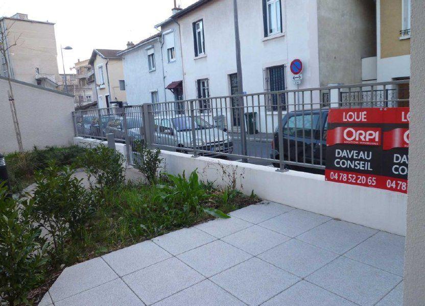 Appartement à louer 44.47m2 à Lyon 3