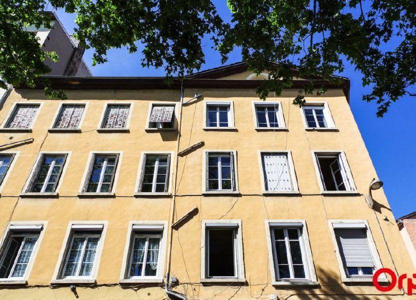 Appartement à louer 27.36m2 à Lyon 4