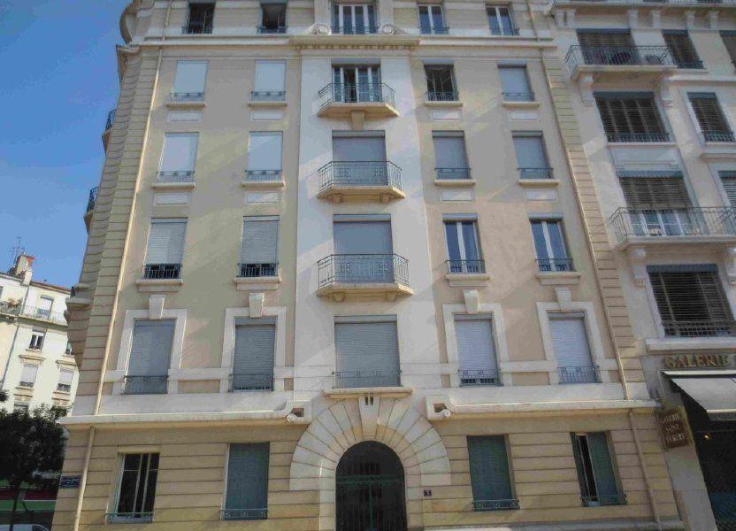 Appartement à louer 16.44m2 à Lyon 6