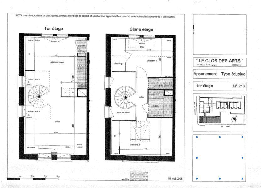 Appartement à vendre 64m2 à Lyon 9