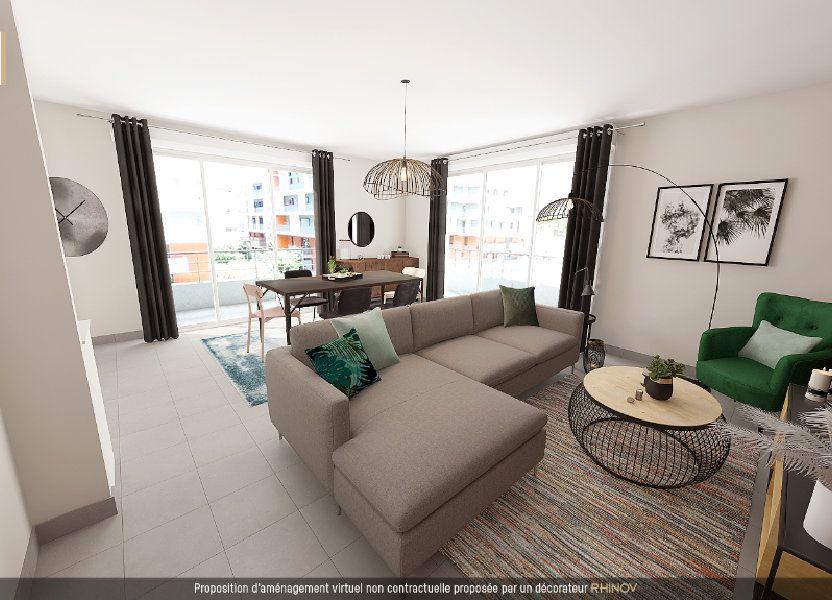 Appartement à vendre 82m2 à Toulouse