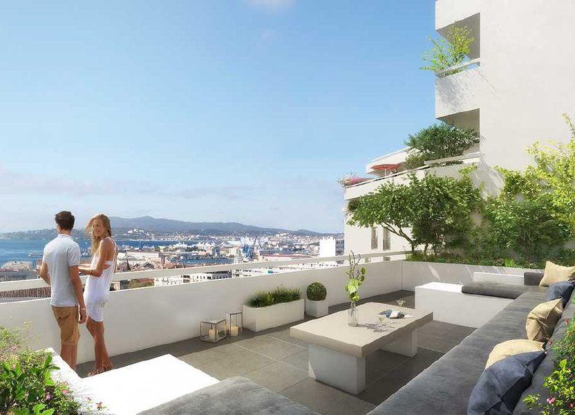 Appartement à vendre 84m2 à Toulon