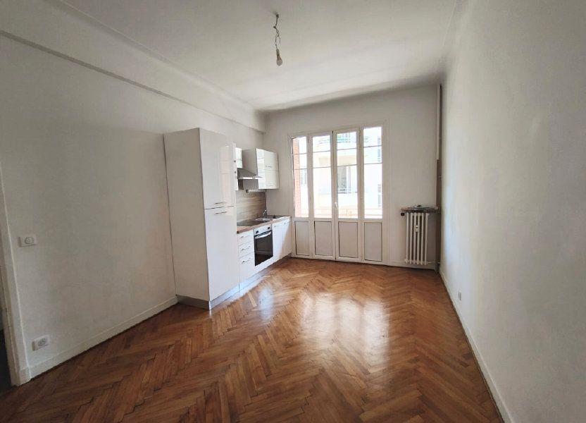 Appartement à louer 33.45m2 à Nice