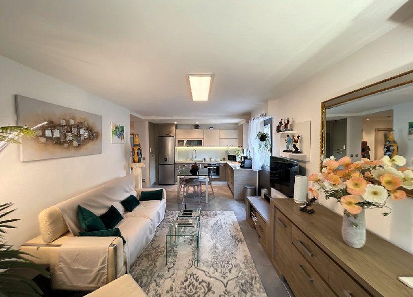 Appartement à vendre 46.45m2 à Cagnes-sur-Mer
