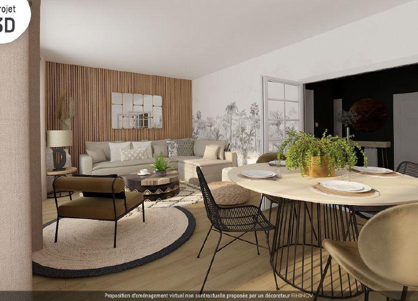 Appartement à vendre 90.75m2 à Roanne