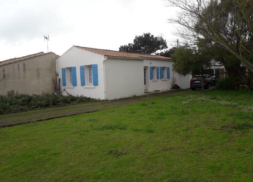 Maison à vendre 50m2 à Saint-Pierre-d'Oléron