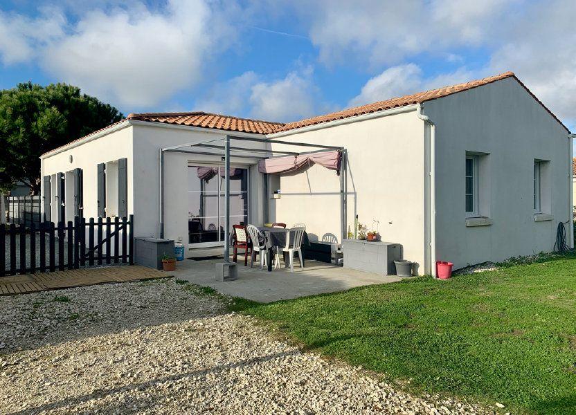 Maison à vendre 108m2 à Saint-Pierre-d'Oléron
