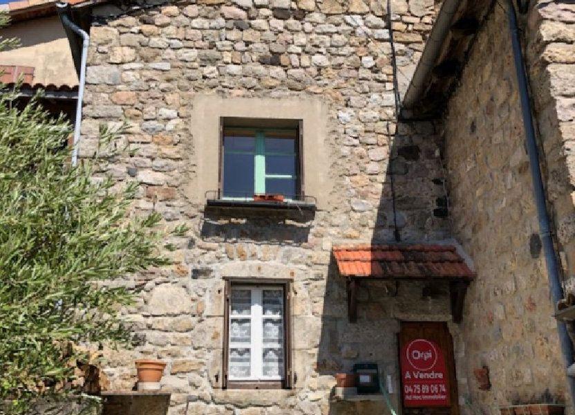Maison à vendre 0m2 à Antraigues-sur-Volane