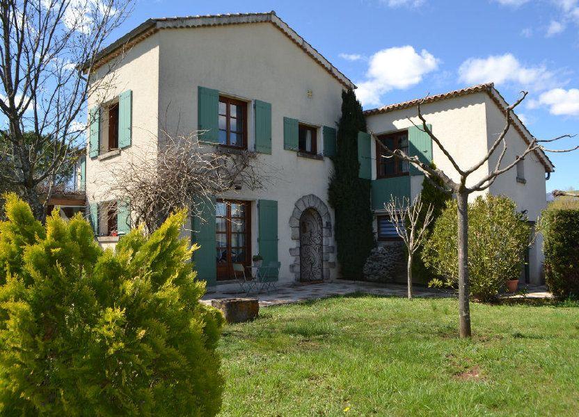 Maison à vendre 143m2 à Laurac-en-Vivarais