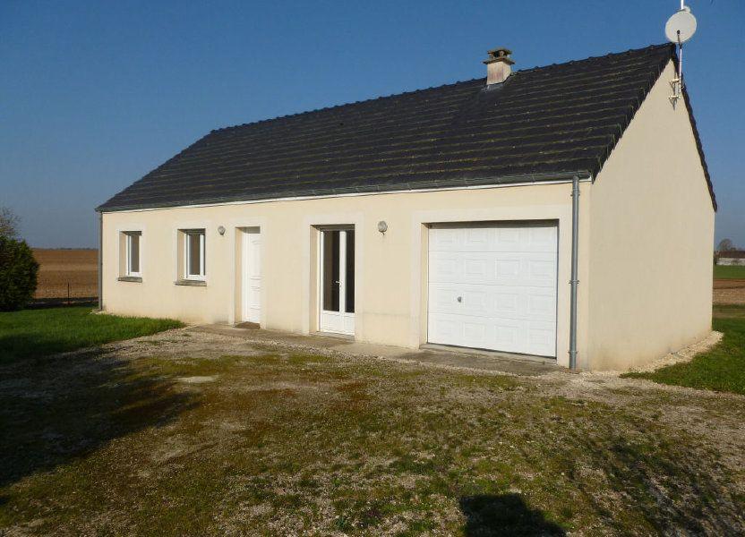 Maison à louer 82.69m2 à Bougligny
