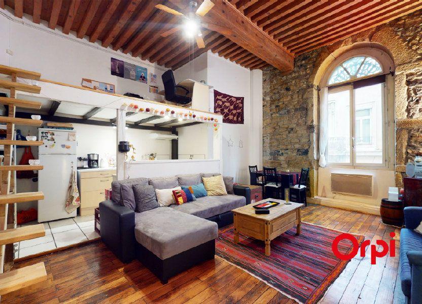 Appartement à vendre 48.84m2 à Lyon 1