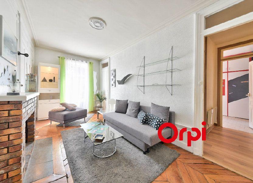 Appartement à louer 65.53m2 à Lyon 2