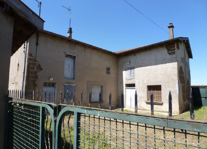 Maison à vendre 160m2 à Saint-Étienne-sur-Chalaronne