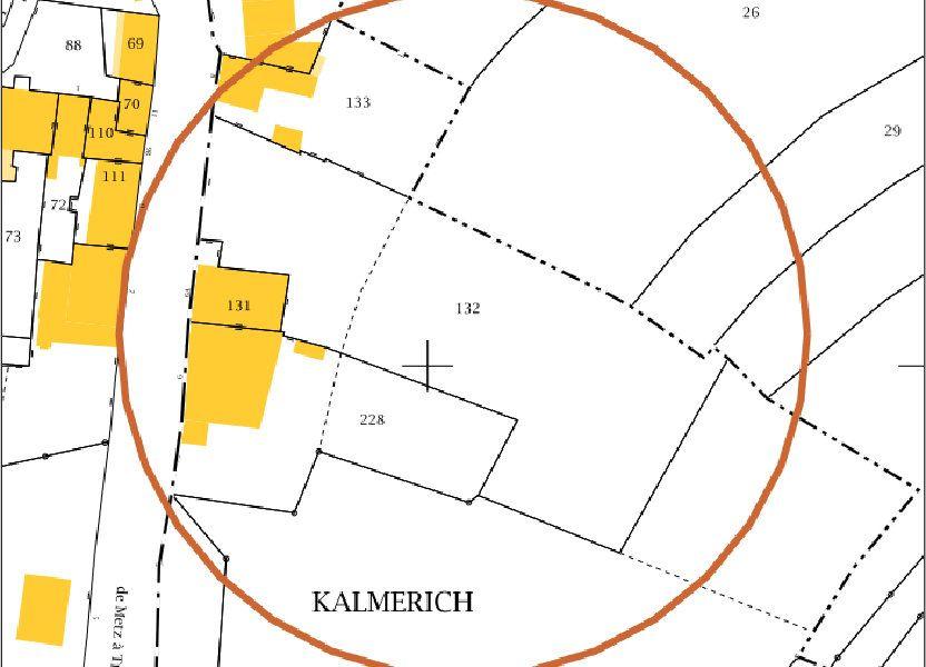 Terrain à vendre 3775m2 à Apach