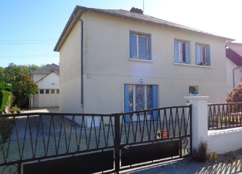 Maison à vendre 80m2 à Salbris