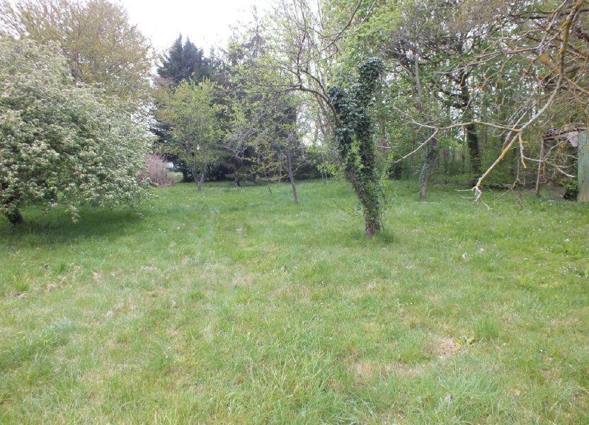 Terrain à vendre 1537m2 à Garennes-sur-Eure