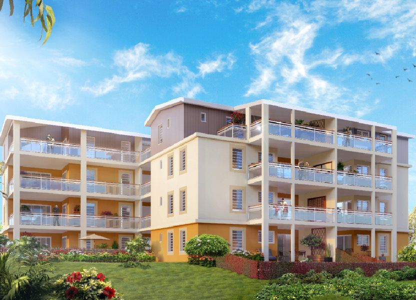 Appartement à vendre 49.34m2 à Saint-Joseph