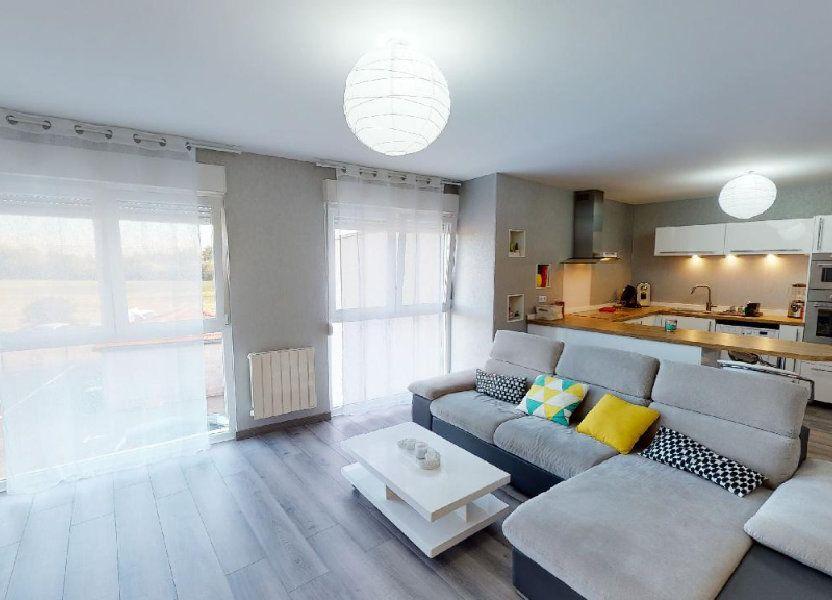 Appartement à vendre 82.39m2 à Courcelles-sur-Nied