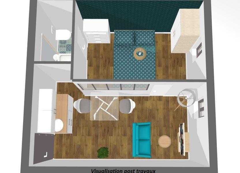 Appartement à vendre 21.85m2 à Paris 14