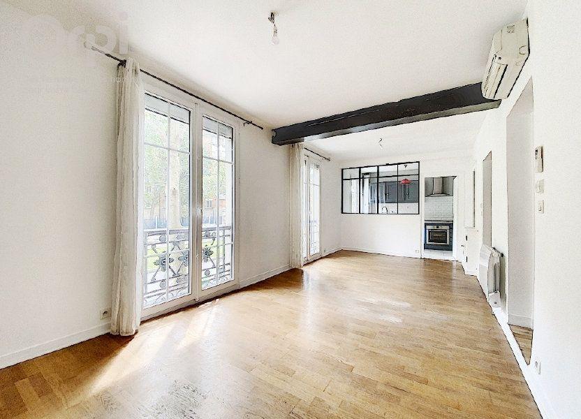 Appartement à vendre 51.63m2 à Paris 20