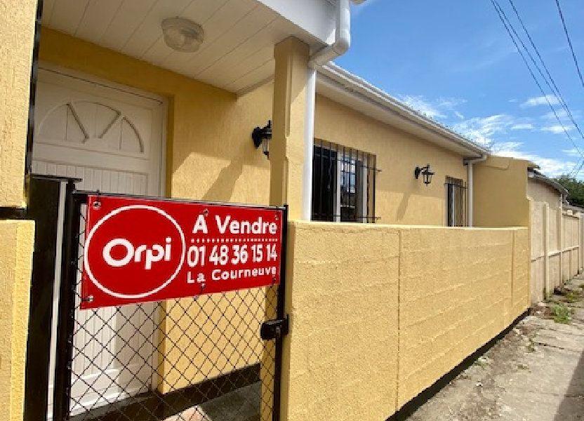 Maison à vendre 42.55m2 à Aubervilliers