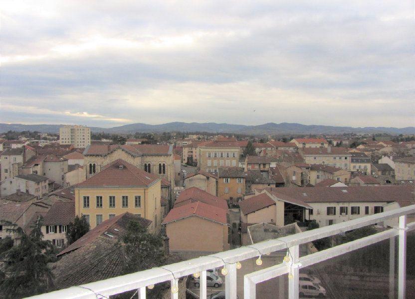 Appartement à vendre 89.47m2 à Villefranche-sur-Saône