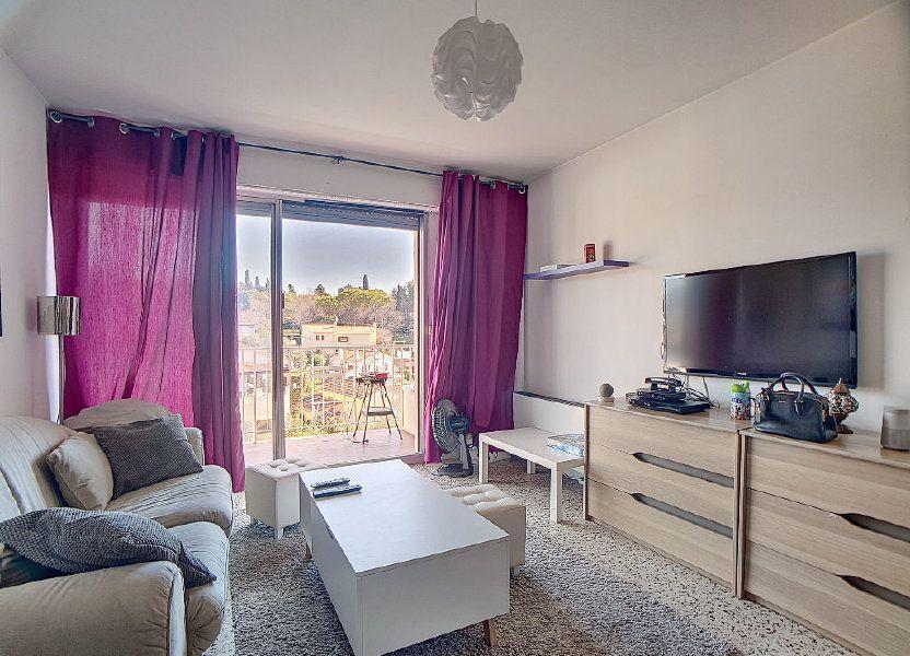 Appartement à louer 33m2 à Antibes