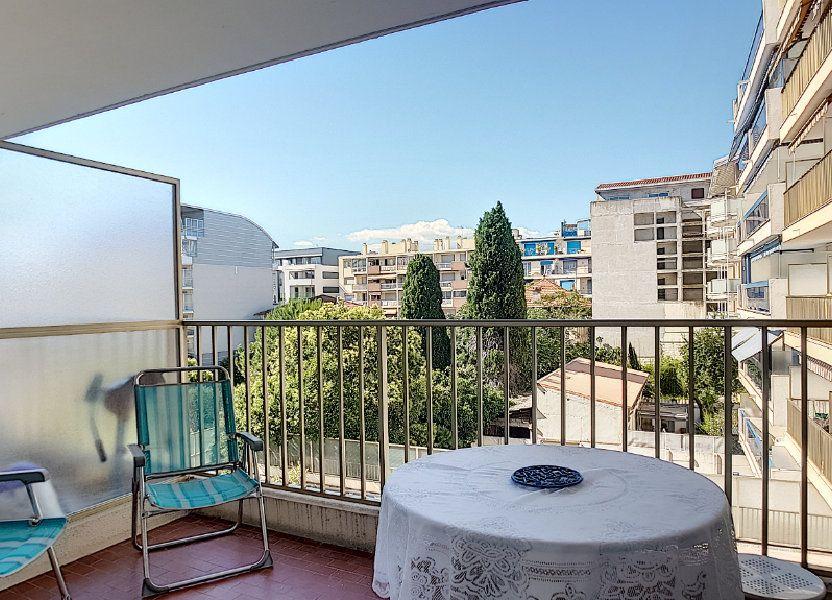 Appartement à louer 29.54m2 à Juan-les-Pins - Antibes
