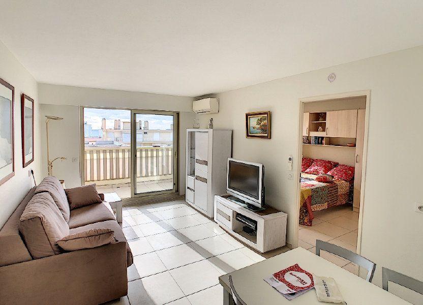 Appartement à vendre 41.5m2 à Juan-les-Pins - Antibes
