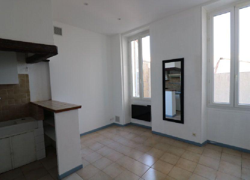 Appartement à louer 29.02m2 à Marseille 5
