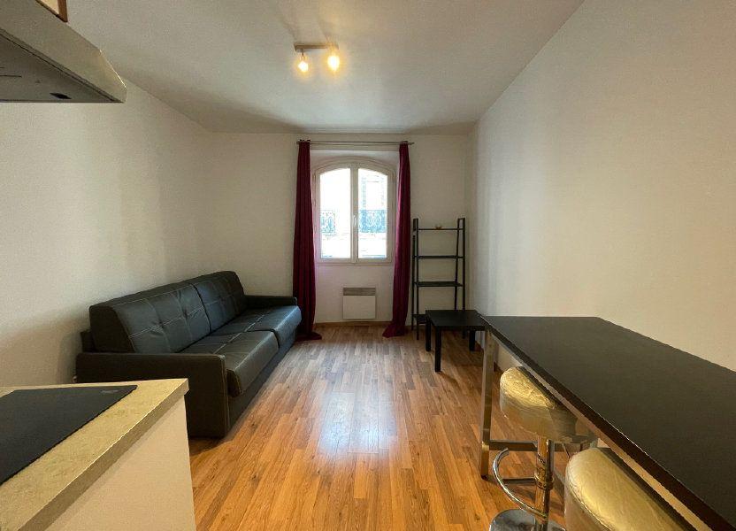 Appartement à louer 20m2 à Marseille 6