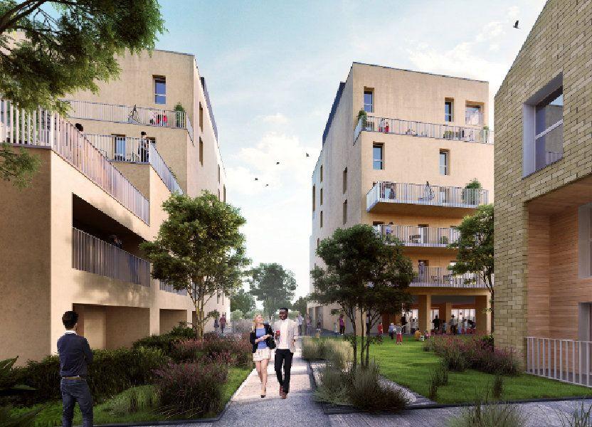 Appartement à vendre 58.51m2 à Bordeaux