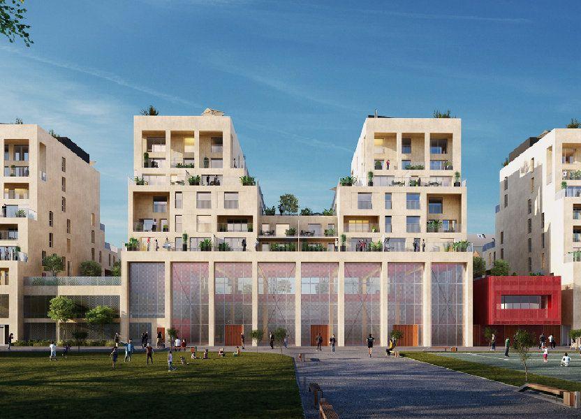Appartement à vendre 75.52m2 à Bordeaux