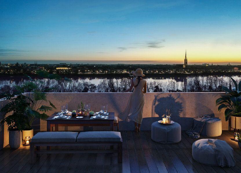 Appartement à vendre 68.86m2 à Bordeaux
