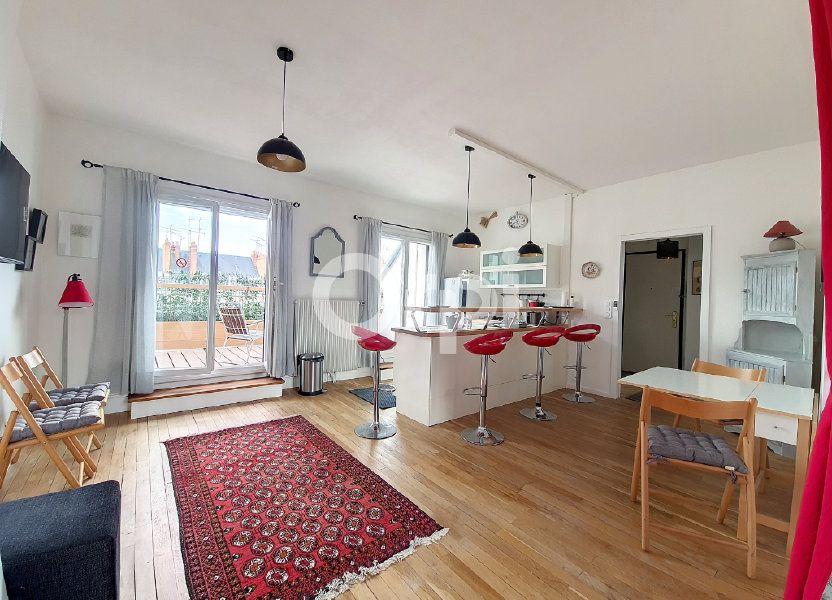 Appartement à louer 56.1m2 à Orléans