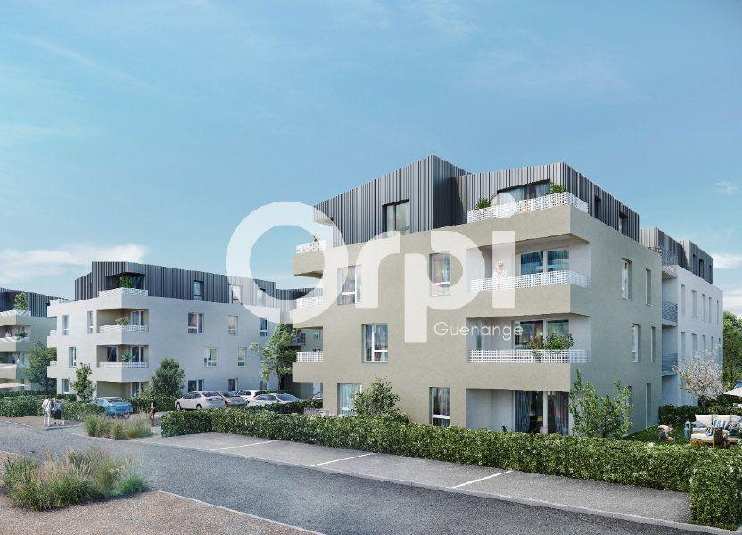 Appartement à vendre 81.92m2 à Guénange